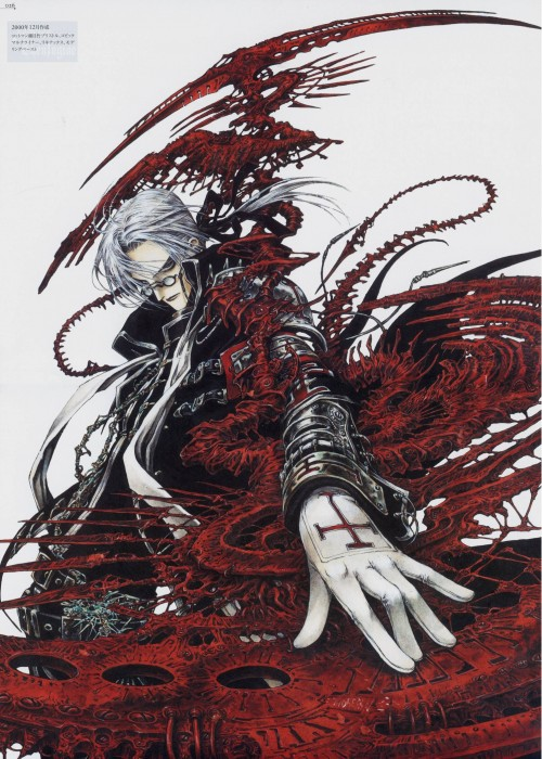 Gonzo, Trinity Blood, Abel Nightroad