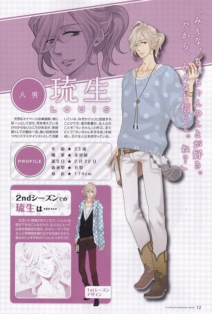 Udajo, Idea Factory, Brothers Conflict, Louis Asahina, Character Sheet