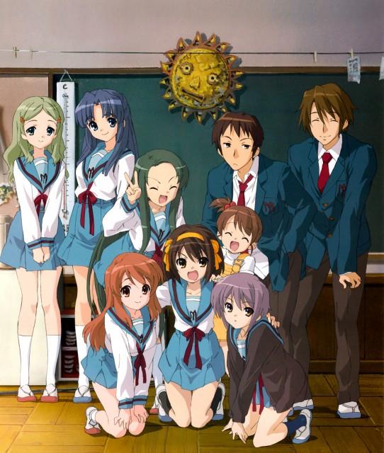 Kyoto Animation, The Melancholy of Suzumiya Haruhi, Itsuki Koizumi, Yuki Nagato, Tsuruya