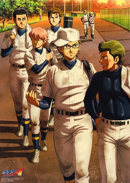 Yuuji Terajima, Production I.G, Ace of Diamond, Youichi Kuramochi, Eijun Sawamura