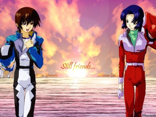 Hisashi Hirai, Sunrise (Studio), Mobile Suit Gundam SEED, Athrun Zala, Kira Yamato Wallpaper
