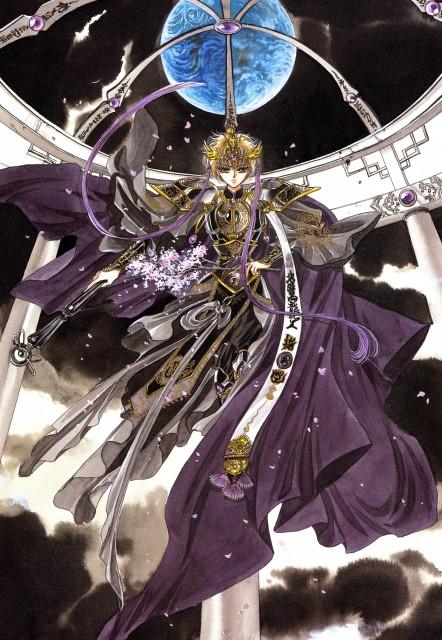 CLAMP, Soryuden, CLAMP North Side, Soryuden Original Illustrations, Amaru Ryudou