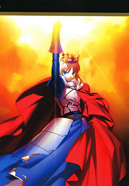 Takashi Takeuchi, TYPE-MOON, TYPE-MOON 10th Anniversary Phantasm, Fate/stay night, Saber
