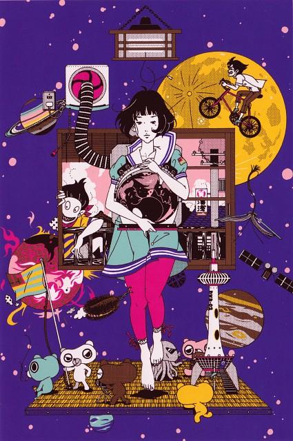 Yusuke Nakamura, The Tatami Galaxy, Watashi (The Tatami Galaxy), Ozu (The Tatami Galaxy), Mochiguman