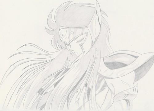 Masami Kurumada, Saint Seiya, Aquarius Camus, Member Art