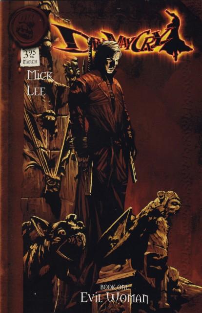 Capcom, Devil May Cry, Dante, Manga Cover