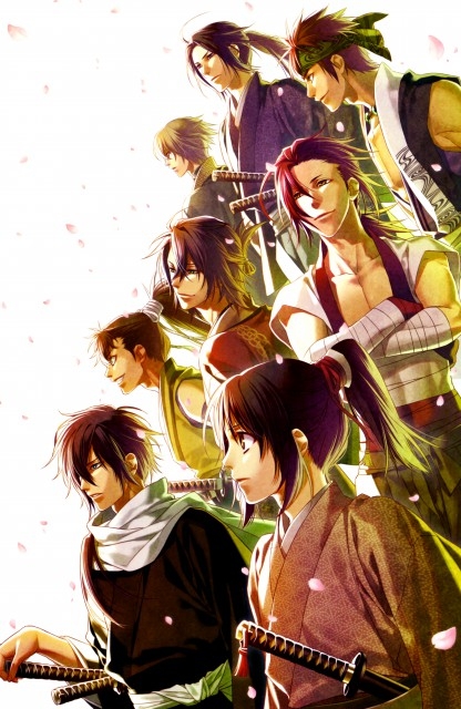 Yone Kazuki, Idea Factory, Hakuouki Shinsengumi Kitan, Chikage Kazama, Hajime Saitou (Hakuouki)
