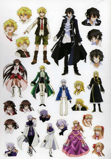 Pandora Hearts, Echo, Oz Vessalius, Xerxes Break, Emily (Pandora Hearts)