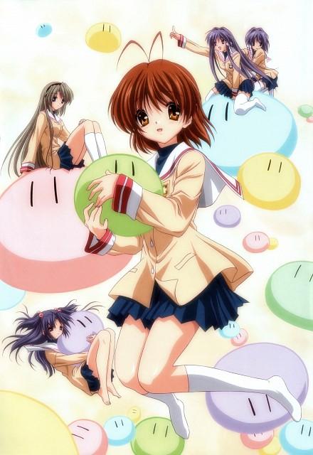 Kazumi Ikeda, Kyoto Animation, Clannad, Nagisa Furukawa, Ryou Fujibayashi