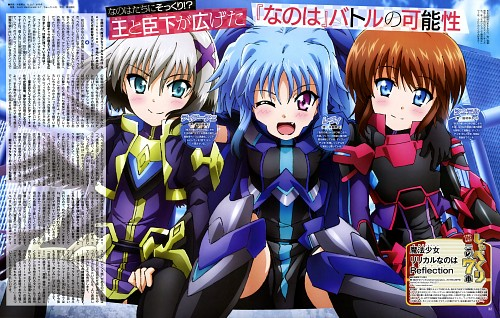 Yuuta Kiso, Seven Arcs, Mahou Shoujo Lyrical Nanoha, Stern The Destructor, Levi The Slasher