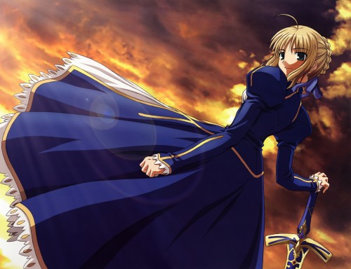 TYPE-MOON, Studio DEEN, Fate/stay night - Saber Portraits , Fate/stay night, Saber