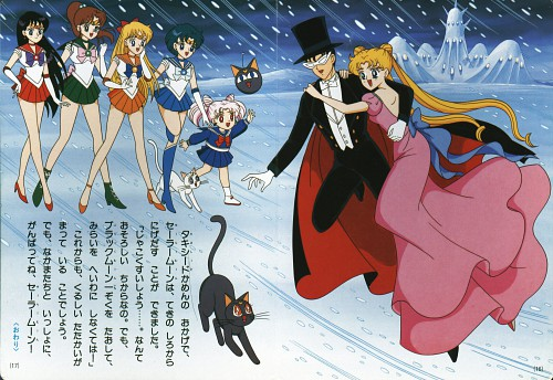 Toei Animation, Bishoujo Senshi Sailor Moon, Sailor Moon: Kodansha no TV Ehon, Luna-P, Sailor Venus