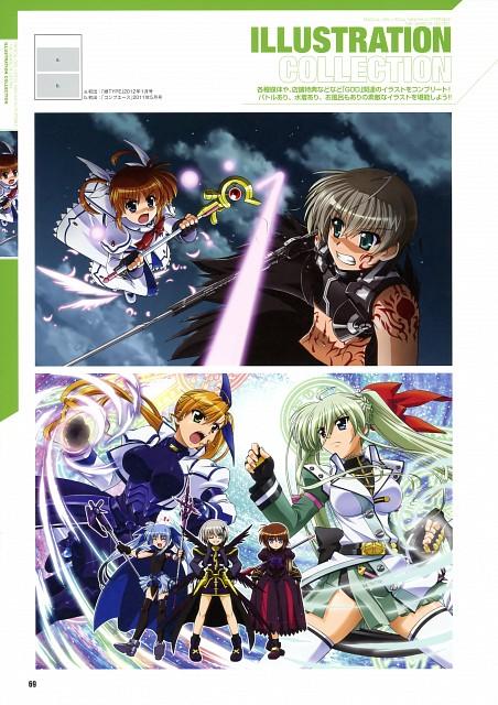 Seven Arcs, Mahou Shoujo Lyrical Nanoha, MSLN A's Portable - The Gears Of Destiny Official Visual Book, Lord Dearche, Nanoha Takamachi