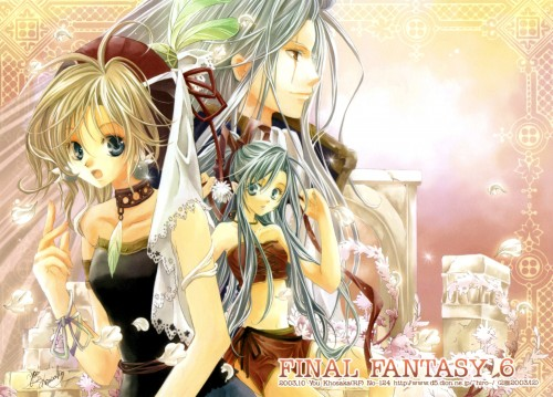 You Kousaka, Final Fantasy VI, Stationery, Doujinshi