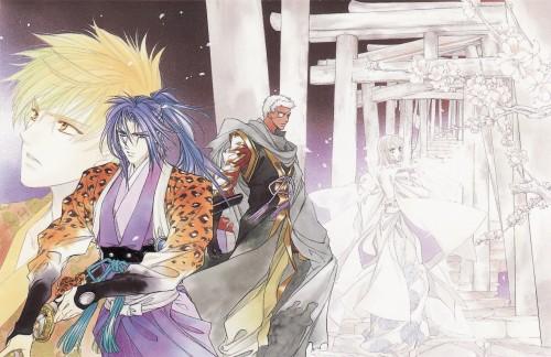 Tohko Mizuno, Harukanaru Toki no Naka de, Minamoto no Yorihisa, Akane Motomiya, Tenma Morimura