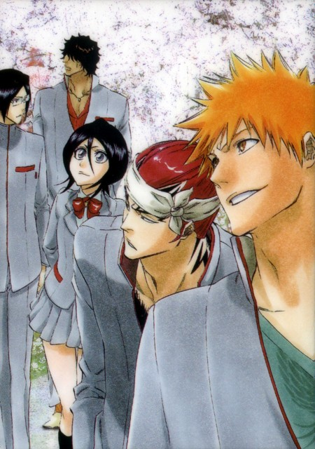 Kubo Tite, Bleach, Uryuu Ishida, Yasutora Sado, Ichigo Kurosaki