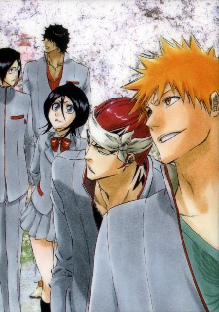 Kubo Tite, Bleach, Rukia Kuchiki, Uryuu Ishida, Yasutora Sado