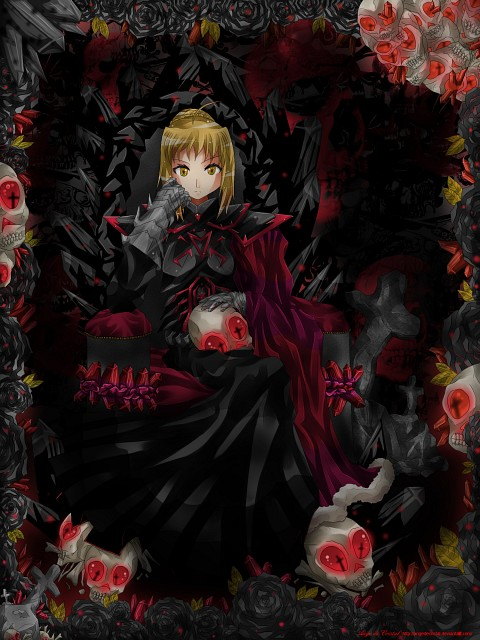 TYPE-MOON, Fate/stay night, Saber Alter, Member Art