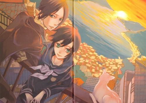 Yuuki Kamatani, Square Enix, Nabari no Ou, Shijima Kurookano, Yoite