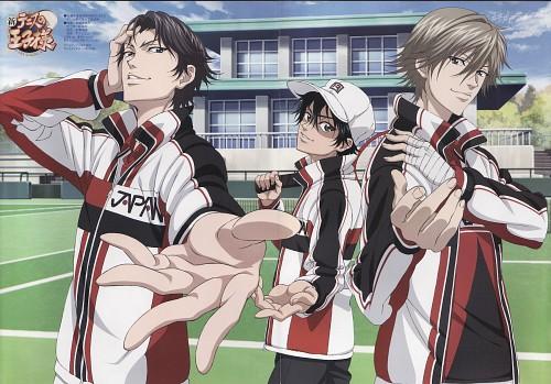 Takeshi Konomi, Production I.G, Prince of Tennis, Ryoma Echizen, Kuranosuke Shiraishi