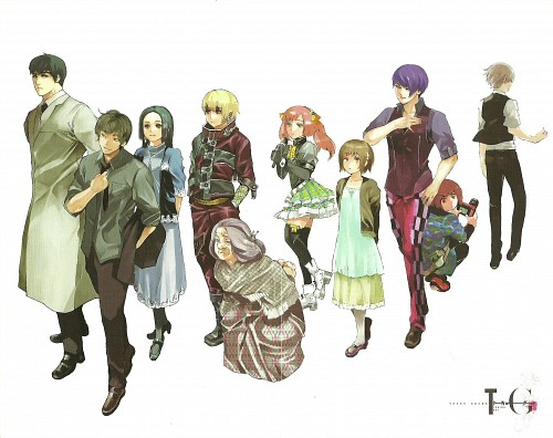 Sui Ishida, Tokyo Ghoul, Ken Kaneki, Hinami Fueguchi, Koutarou Amon