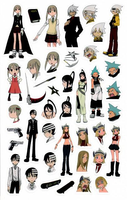Atsushi Okubo, BONES, Soul Eater, Patty Thompson, Tsubaki Nakatsukasa