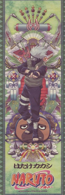 Studio Pierrot, Naruto, Kakashi Hatake, Pakkun, Stick Poster