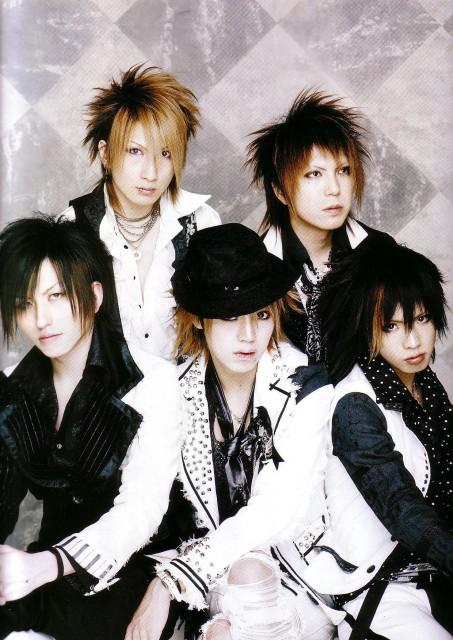 Hiroto, Shou, Saga (J-Pop Idol), Alice Nine, Nao
