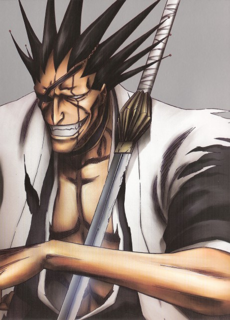 Studio Pierrot, Bleach, Kenpachi Zaraki, DVD Cover