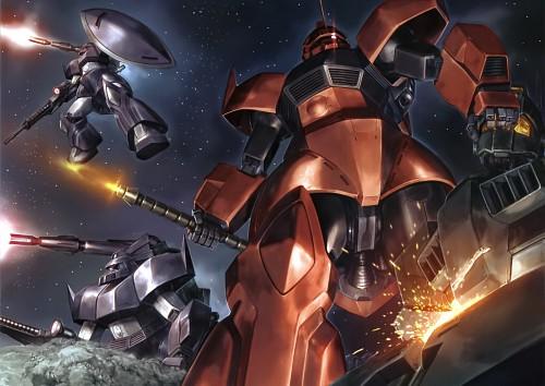 Sunrise (Studio), Mobile Suit Gundam - Universal Century, Gundam Perfect Files, Johnny Ridden