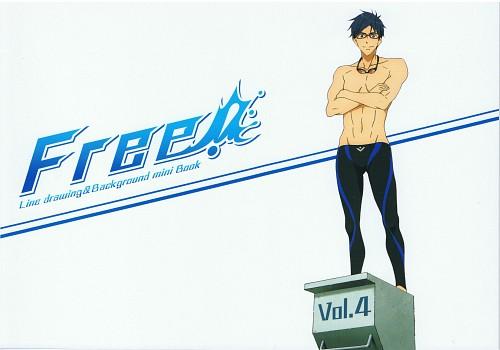 Kyoto Animation, Free!, Rei Ryuugazaki, DVD Cover