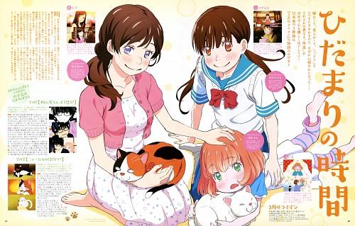 Kazuya Shiotsuki, Chika Umino, Shaft (Studio), Sangatsu no Lion, Momo Kawamoto