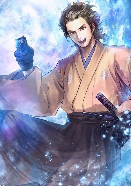 Koei, Toukiden: The Age Of Demons, Ryoma Sakamoto (Toukiden), Official Digital Art