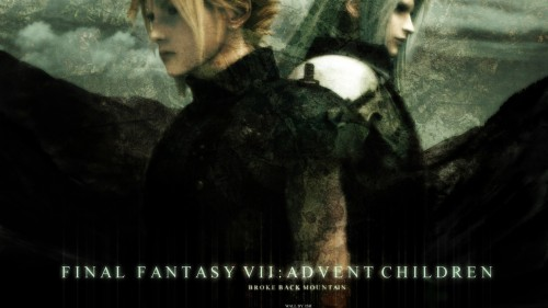 Square Enix, Final Fantasy VII: Advent Children, Sephiroth, Cloud Strife Wallpaper