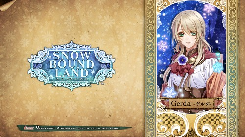 Aya Murasaki, Idea Factory, Snow Bound Land, Gerda, Official Wallpaper