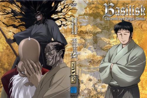 Masaki Segawa, Gonzo, Basilisk, Saemon Kisaragi, Nenki Mino