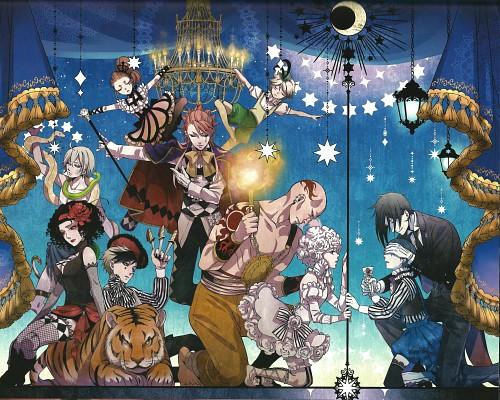 Yana Toboso, Kuroshitsuji, Black Butler Artworks 1, Dagger (Kuroshitsuji), Ciel Phantomhive