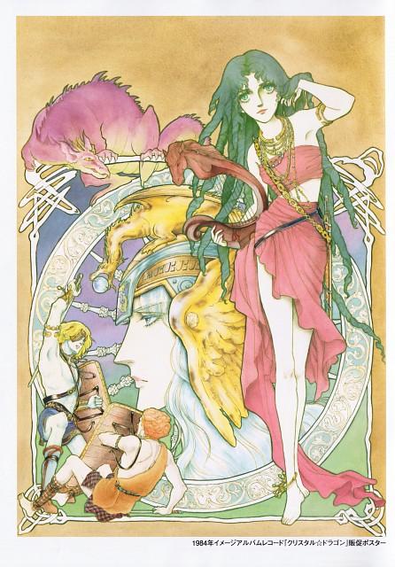 Yuho Ashibe, Crystal Dragon, Arianrhod (Crystal Dragon), Balor, Legion