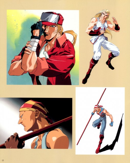 Masami Obari, SNK, Fatal Fury, King of Fighters, Billy Kane