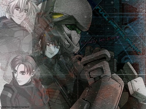 Gonzo, Full Metal Panic!, Kurz Weber, Melissa Mao Wallpaper