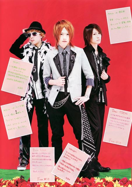 Yuuki (J-Pop Idol), Teruki, Takuya (J-Pop Idol), An Cafe