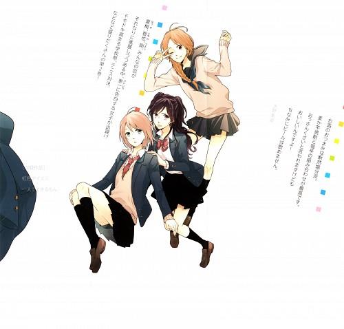 Minami Mizuno, Nijiiro Days, Anna Kobayakawa, Mari Tsutsui, Yukiko Asai