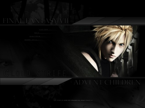 Square Enix, Final Fantasy VII: Advent Children, Final Fantasy VII, Cloud Strife Wallpaper
