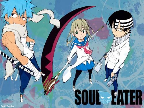 Soul Eater, Maka Albarn, Death The Kid, Black Star Wallpaper