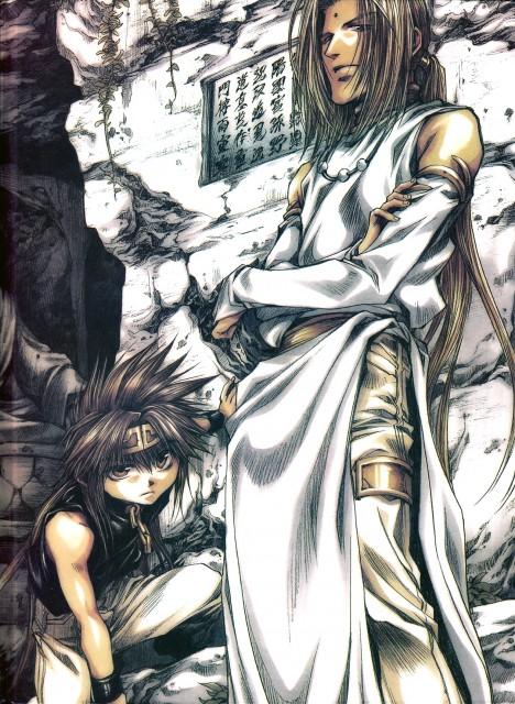 Kazuya Minekura, Saiyuki Gaiden, Son Goku (Saiyuki), Konzen Douji