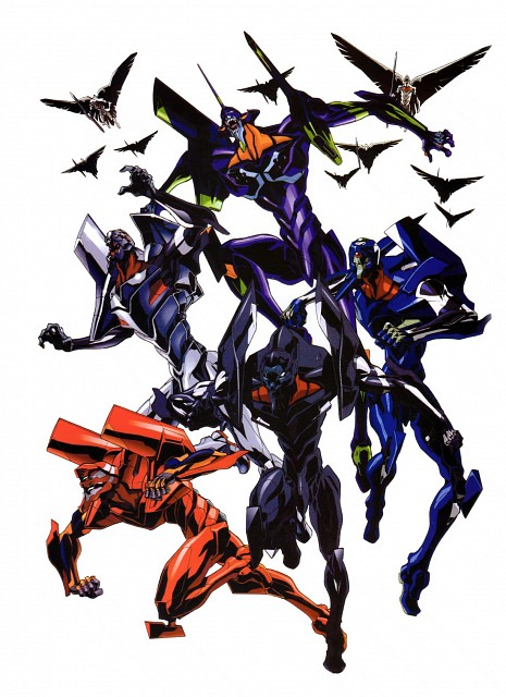 Gainax, Neon Genesis Evangelion, Unit-02, Unit-01, Unit-00