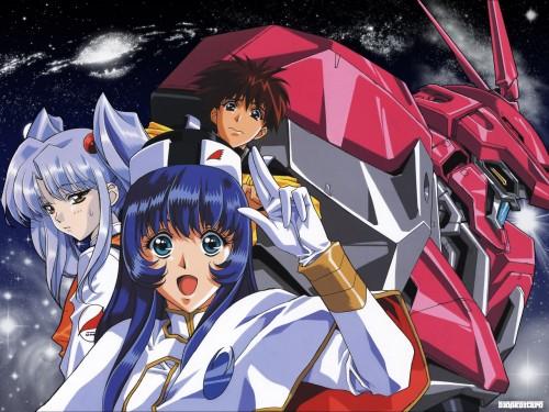 Keiji Gotoh, Martian Successor Nadesico, Yurika Misumaru, Ruri Hoshino, Akito Tenkawa Wallpaper