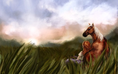 Nintendo, The Legend of Zelda, Epona, Malon Wallpaper