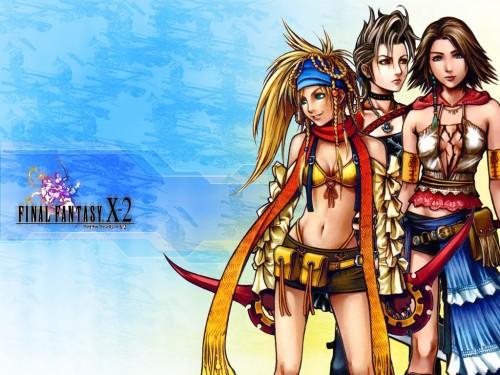Square Enix, Final Fantasy X-2, Yuna, Paine, Rikku Wallpaper