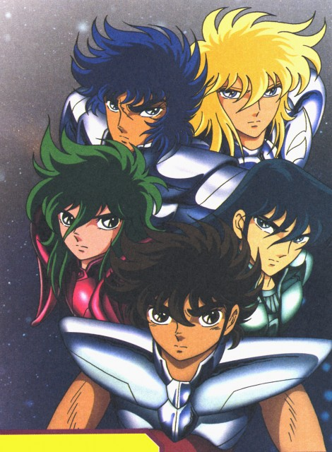 Masami Kurumada, Toei Animation, Saint Seiya, Cygnus Hyoga, Pegasus Seiya